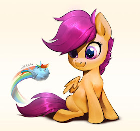 http://imalou.deviantart.com/art/Scootacute-and-Rainbow-puff-683706657