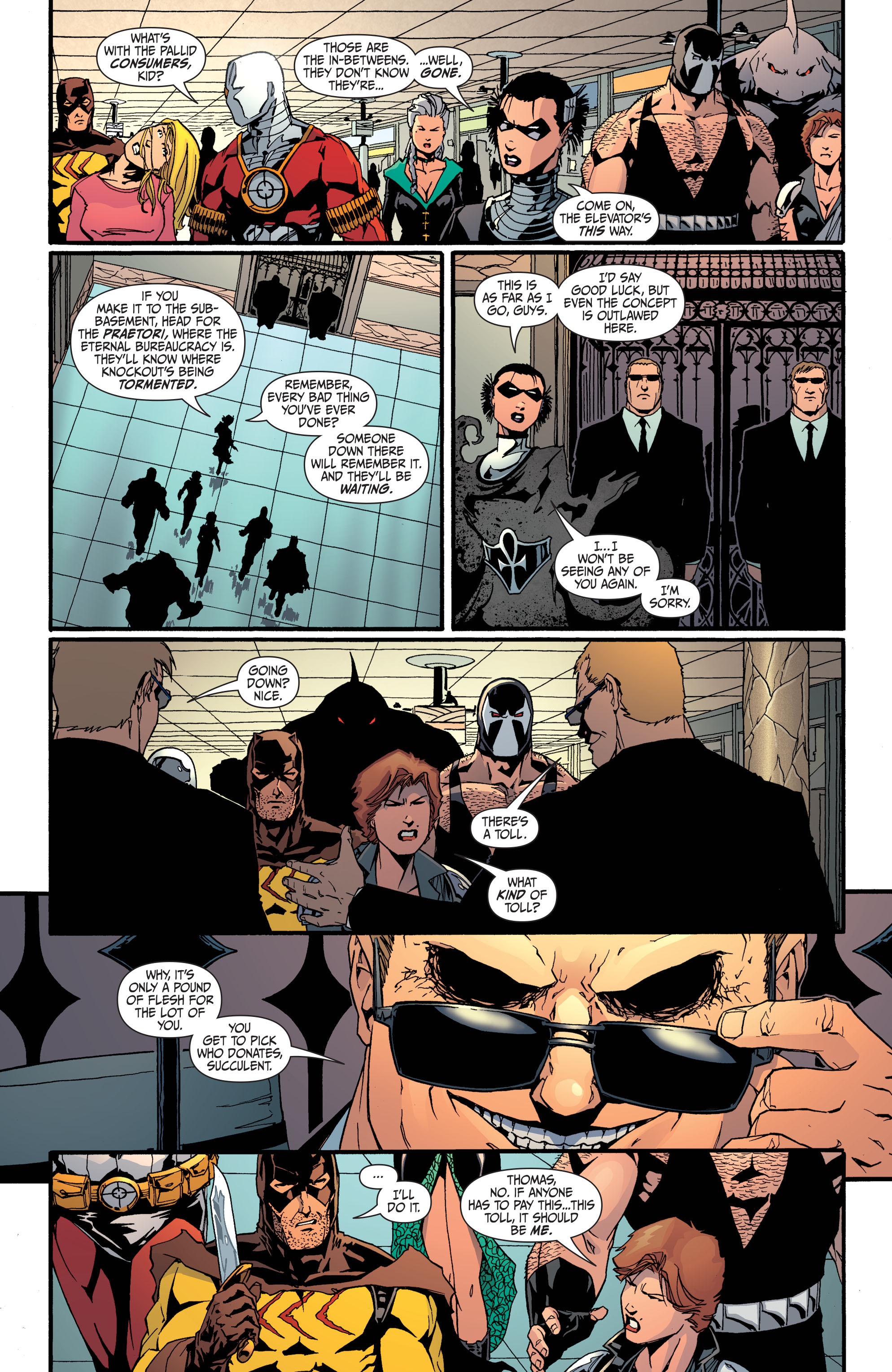 Read online Secret Six (2008) comic -  Issue #31 - 21