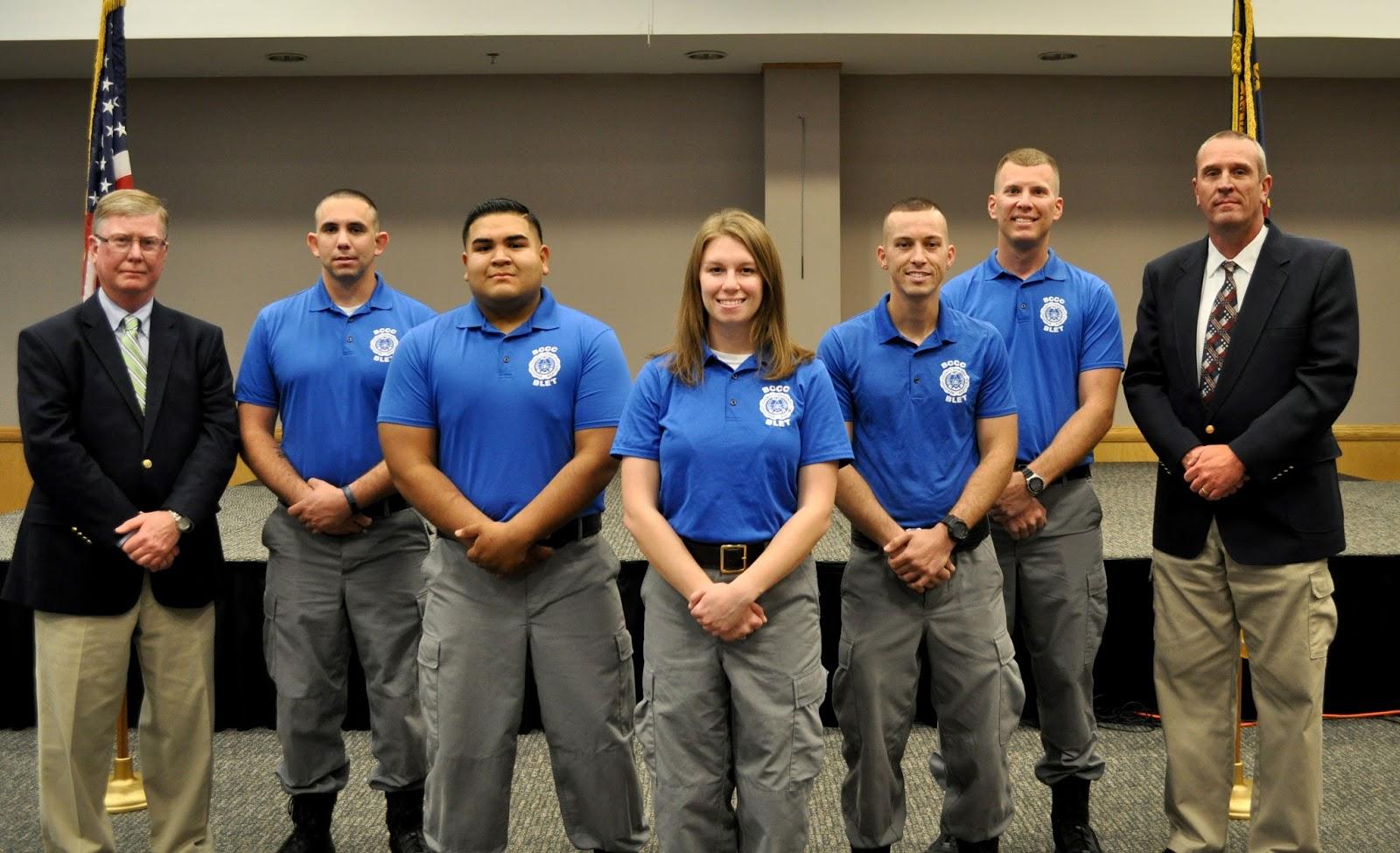 Law Enforcement Graduates Honored Bccc Newsblog
