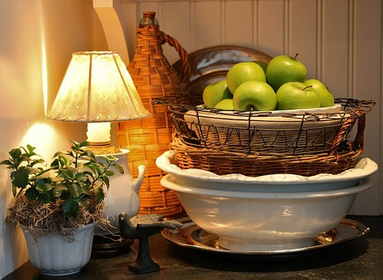 Decor Inspiration A Kitchen To Live In: Vignette Design: Tuesday Inspiration: Kitchen Vignettes