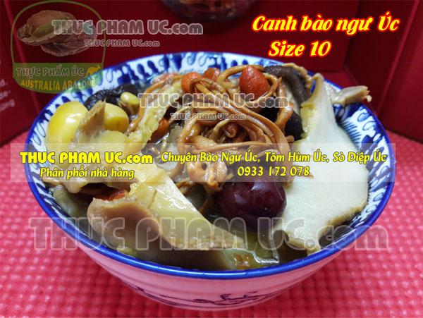 các món ăn từ bào ngư Úc