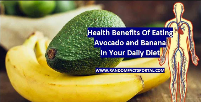 Health Benefits Of Eating Avocado and Banana In Your Daily Diet