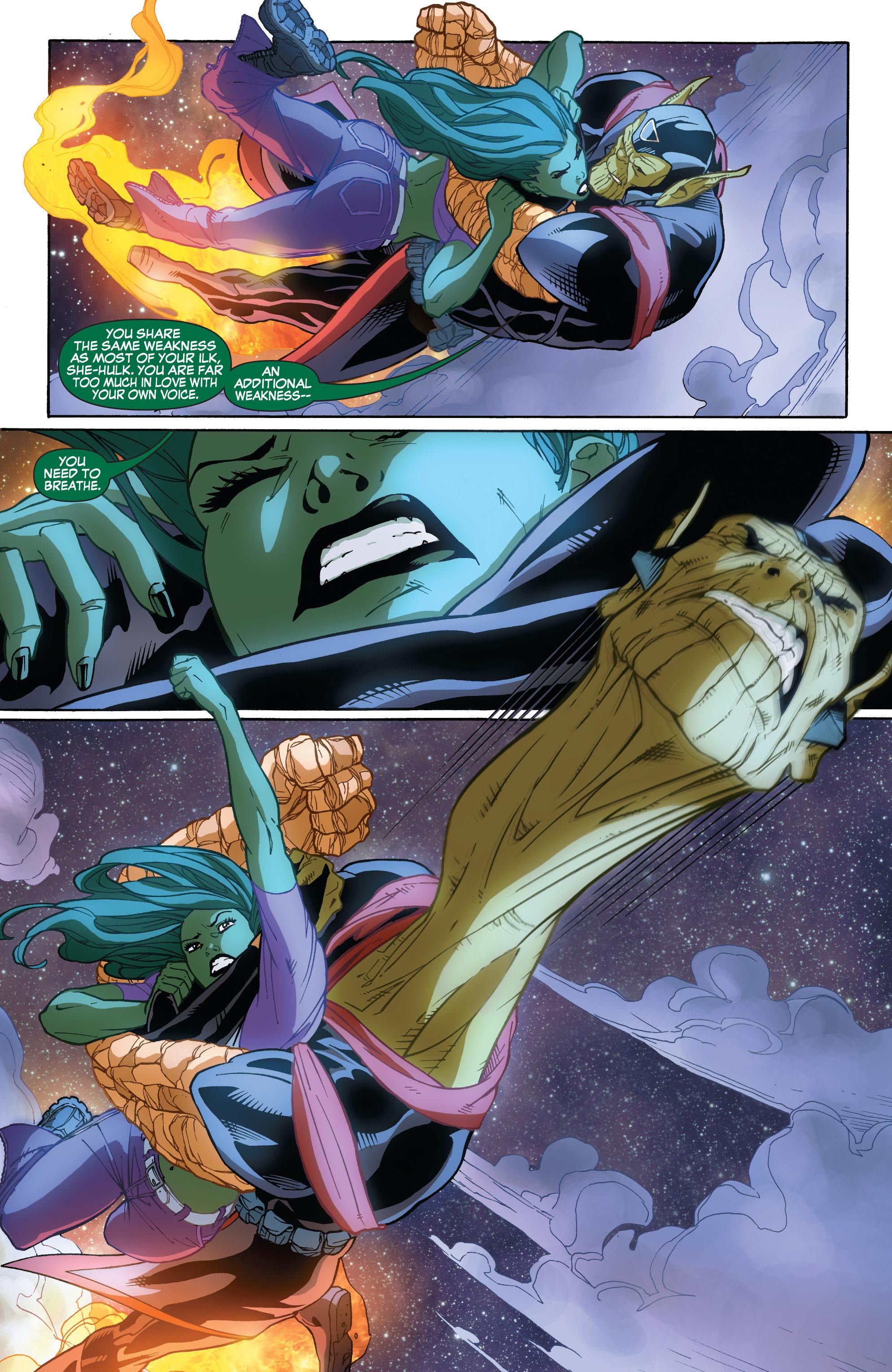 Read online She-Hulk (2005) comic -  Issue #32 - 22