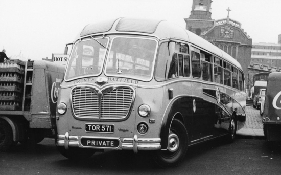 Photograph of a Brunt's Coach 1960s Image by Ron Kingdon