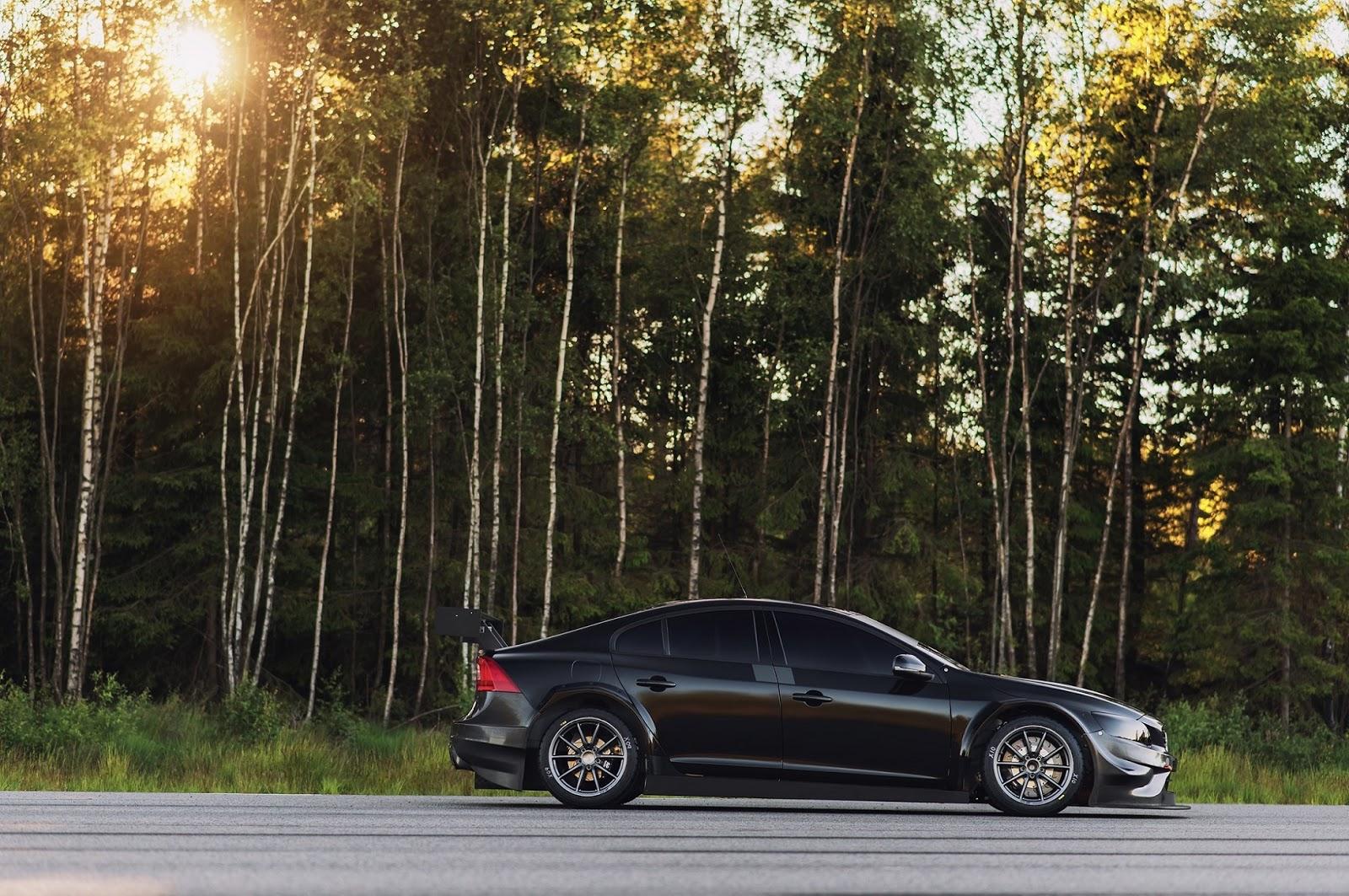 VOLVO POLESTAR%2BCYAN%2BRACING%2BIN%2BWTCC%2BWITH%2BS60%2BPOLESTAR 2 Η Volvo στο WTCC με το S60 Polestar για να γιορτάσει το ένδοξο παρελθόν του Volvo 240 Turbo