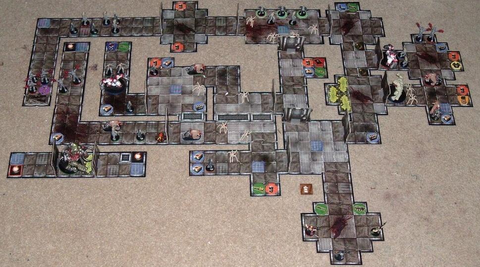 Esto es Doom, pero como uso sus tableros para las pruebas de juego...