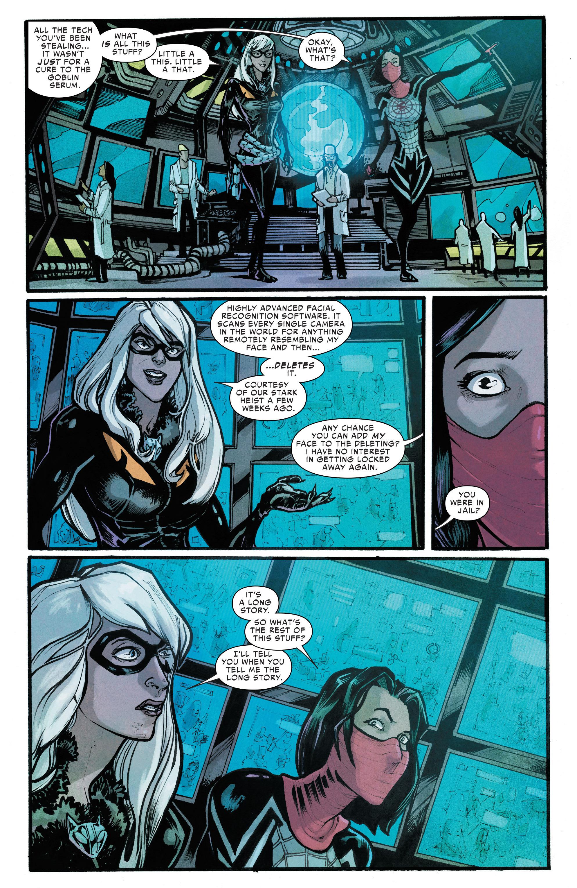 Read online Silk (2016) comic -  Issue #6 - 7