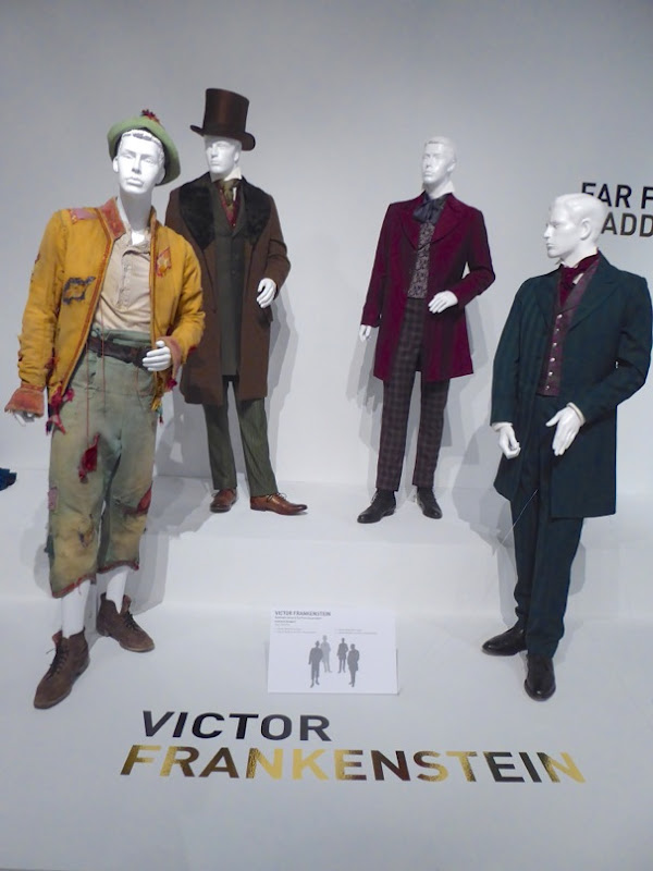 Victor Frankenstein movie costume exhibit FIDM Museum LA