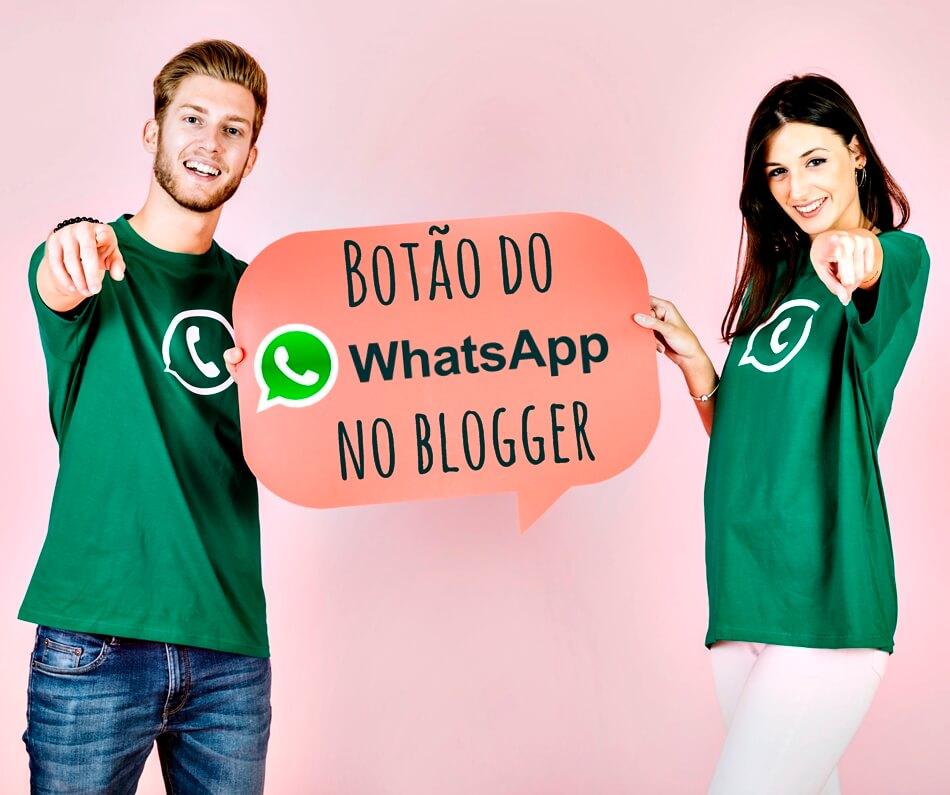 Como colocar o botão do Whatsapp no Blogger