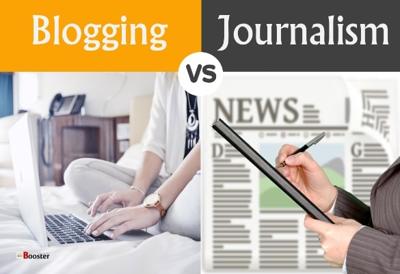blogging and journalism Sometimes there's no difference between a blogger and a journalist sometimes  there's a significant difference at a fundamental level, the medium defines one.