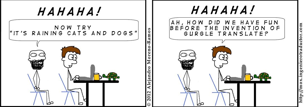 How translators have fun