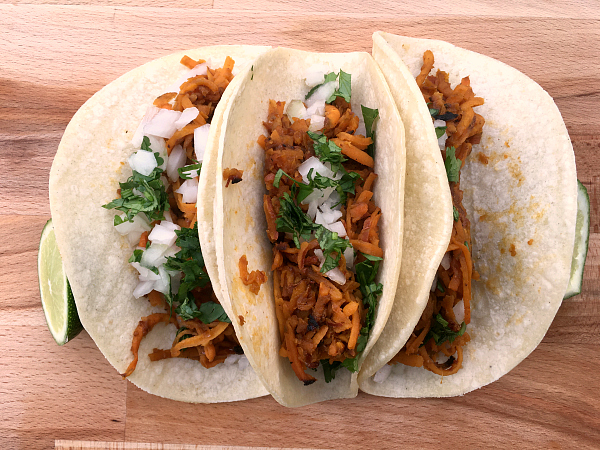 Vegan Street Tacos - Kim's Welcoming Kitchen