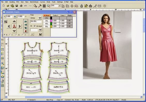 Application Of Autocad In Apparel Industry Textile Learner