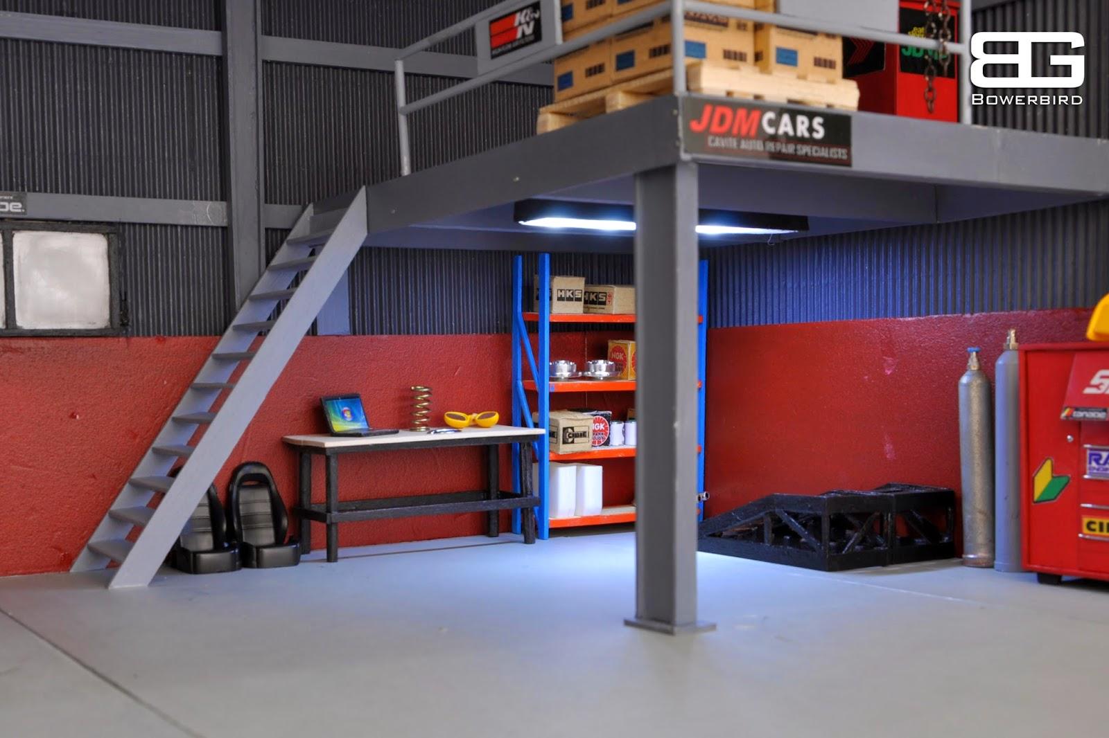 Bowerbird Garage Diorama: Bowerbird Garage