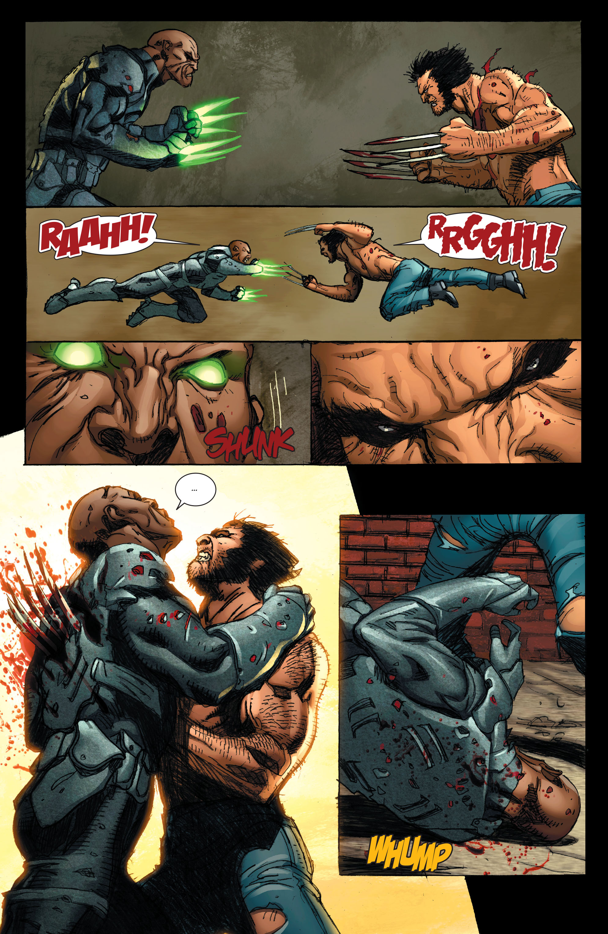 Read online Wolverine: Weapon X comic -  Issue #4 - 22