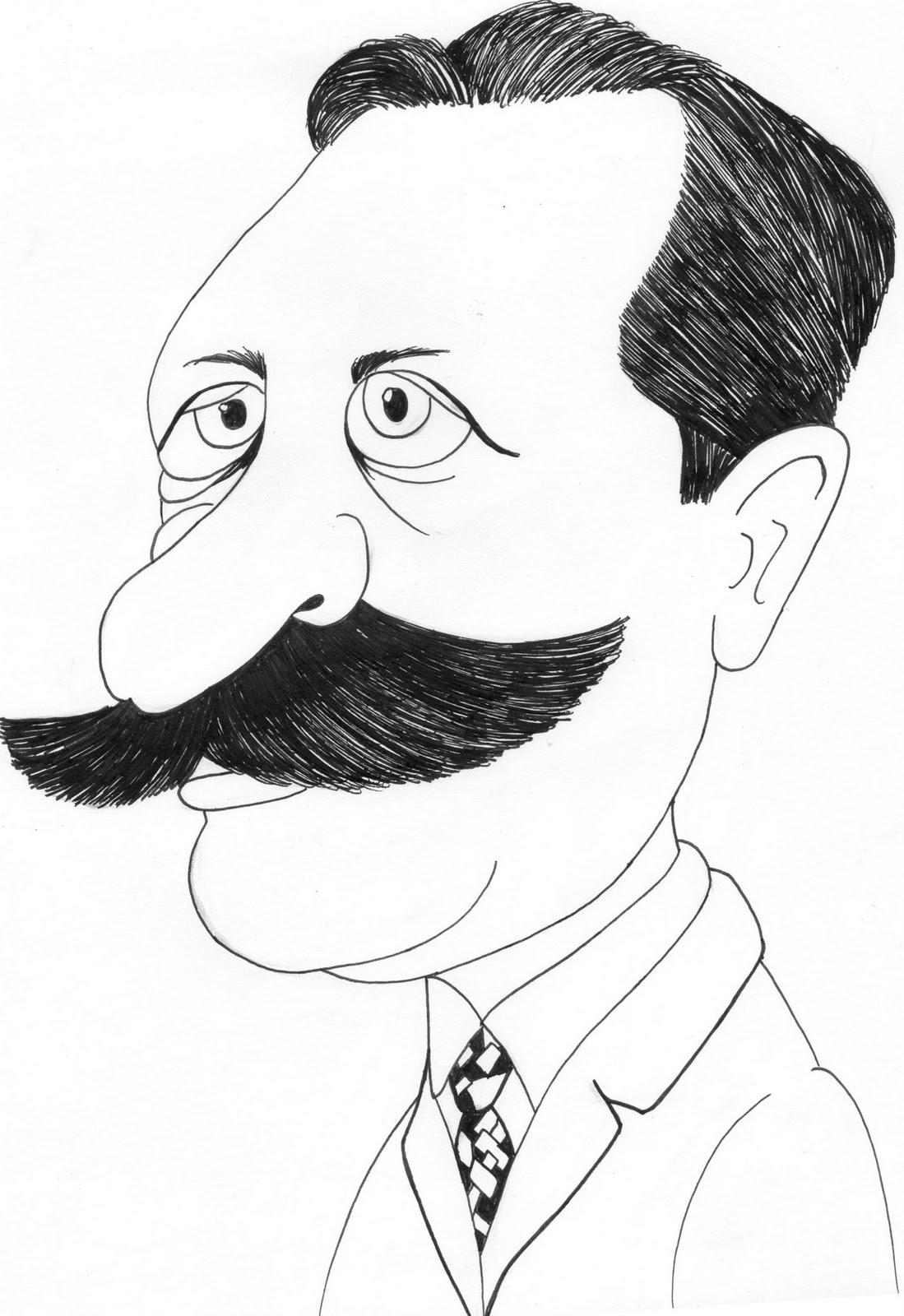 NAYART'S: Caricaturas de Escritores da Literatura Brasileira