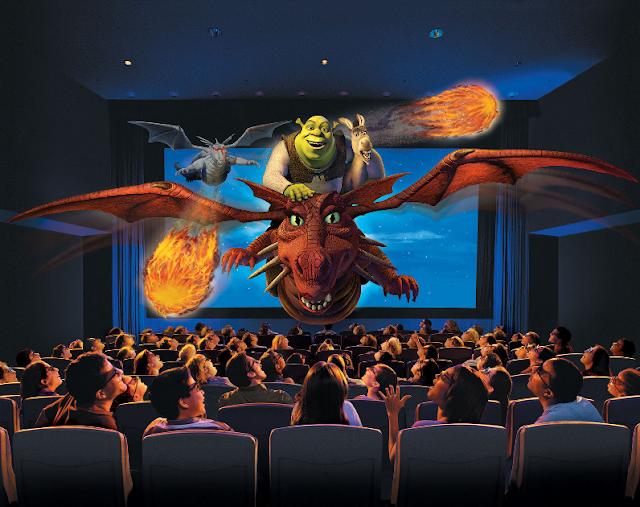Shrek 4D na Universal Studios em Orlando