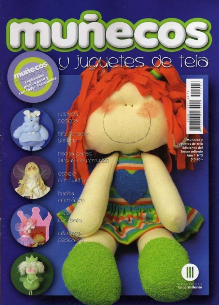 Muñecos y Juguetes de tela Nro. 3