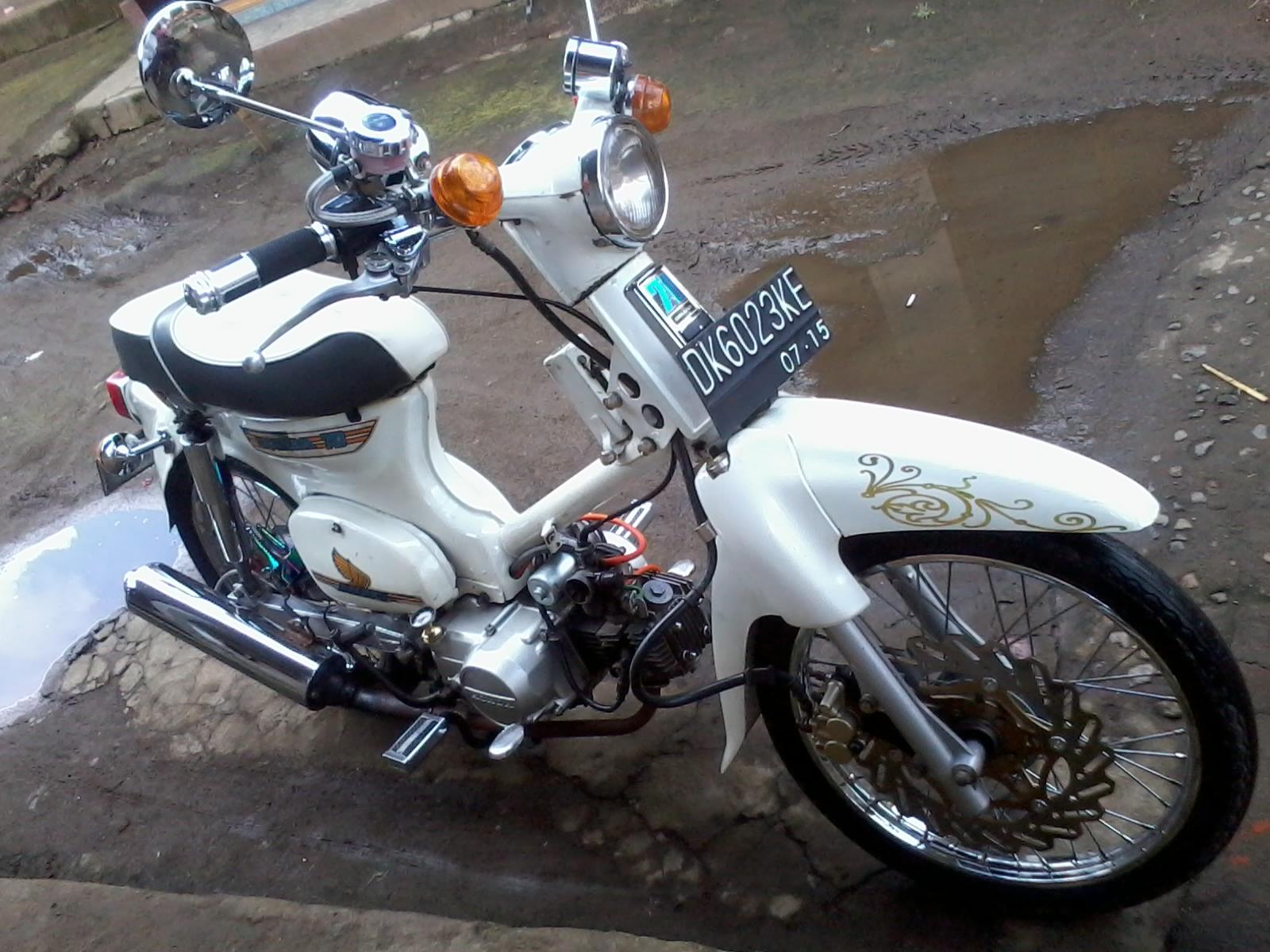 Creative Handicraft P Of Modifikasi Motor Honda C Mar
