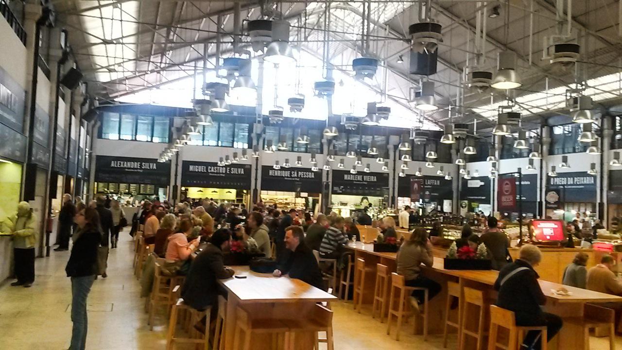 Mercado Da Ribeira en Lisboa, Portugal 3