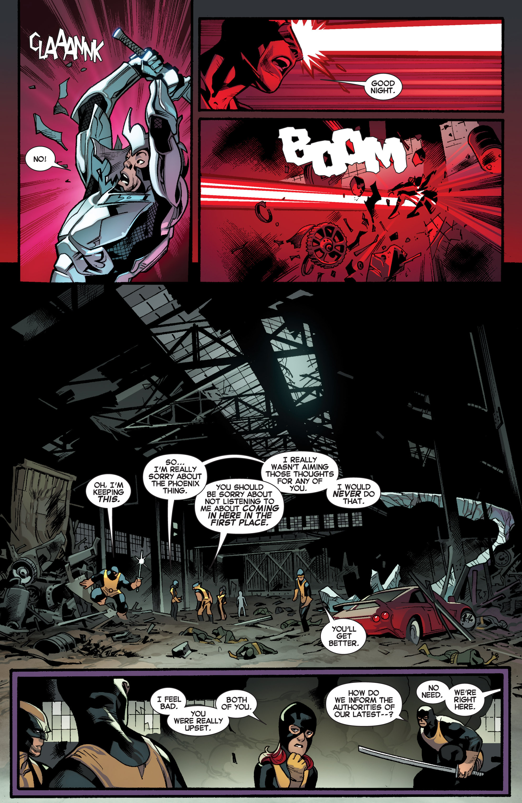 Read online All-New X-Men (2013) comic -  Issue # _Special - Out Of Their Depth - 80