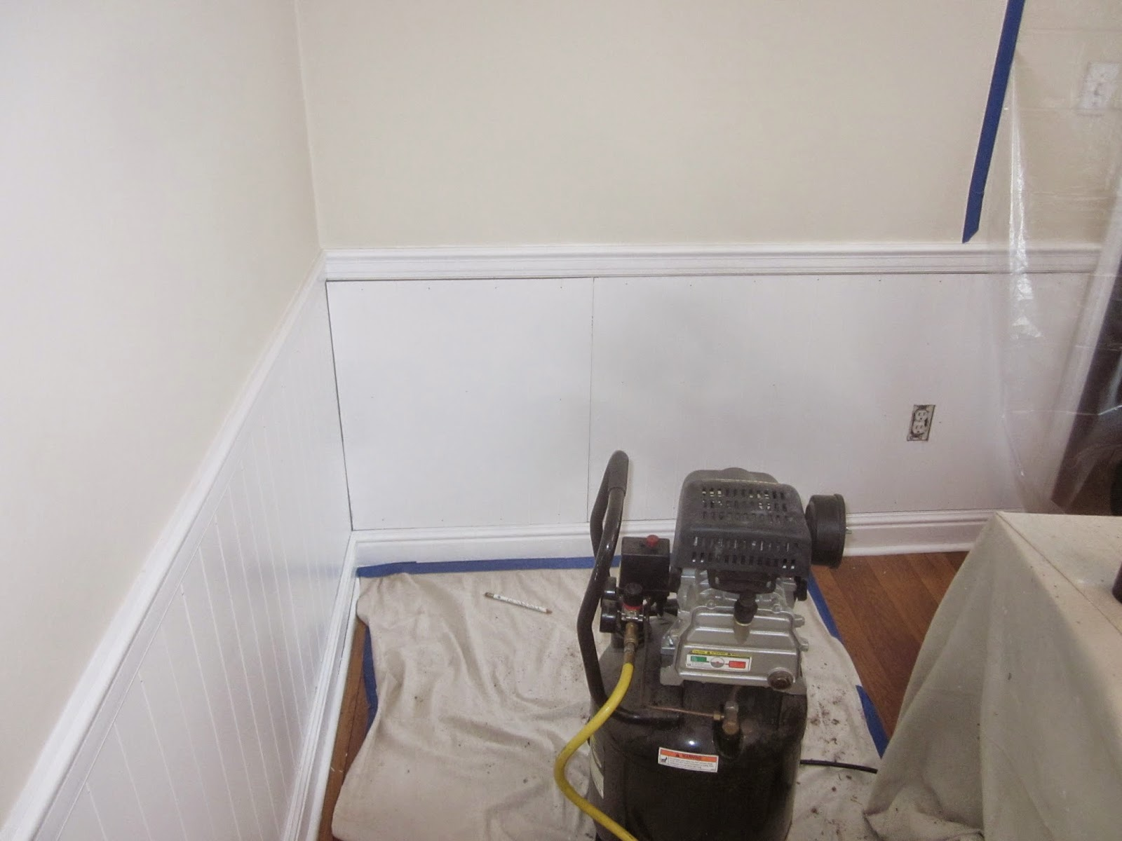 Wainscoting Install
