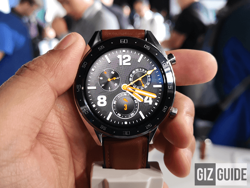 Huawei Watch GT and Band 3 Pro now official!