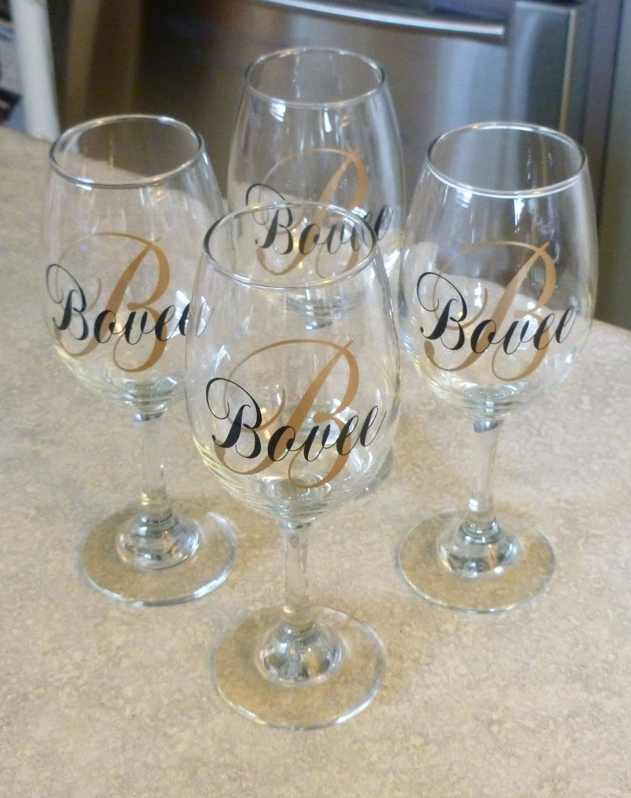Cher S Signs By Design Personalized Wine Glasses