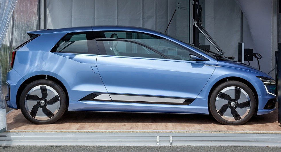 Volkswagen Gen.E concept - preview for next Golf?
