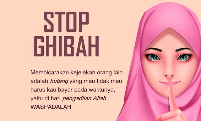 Pesan Untuk Muslimah Yang Masih Suka Bergosip