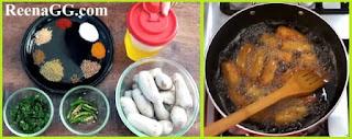 Fried Arvi Recipe