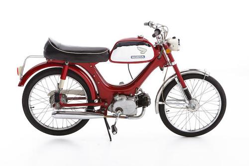 Xe cổ moped Honda PS50 1970 phong cách Sport