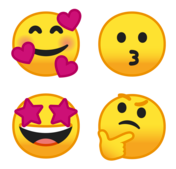 Google Smiley Faces
