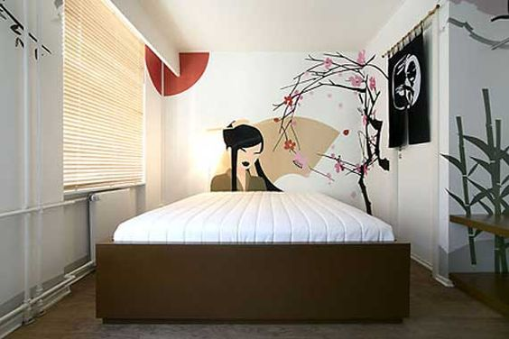 How to Create a Japanese-Themed Teen Bedroom