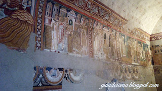 afrescos capela sao silvestre roma guia portugues - Afrescos Medievais da Capela de São Silvestre