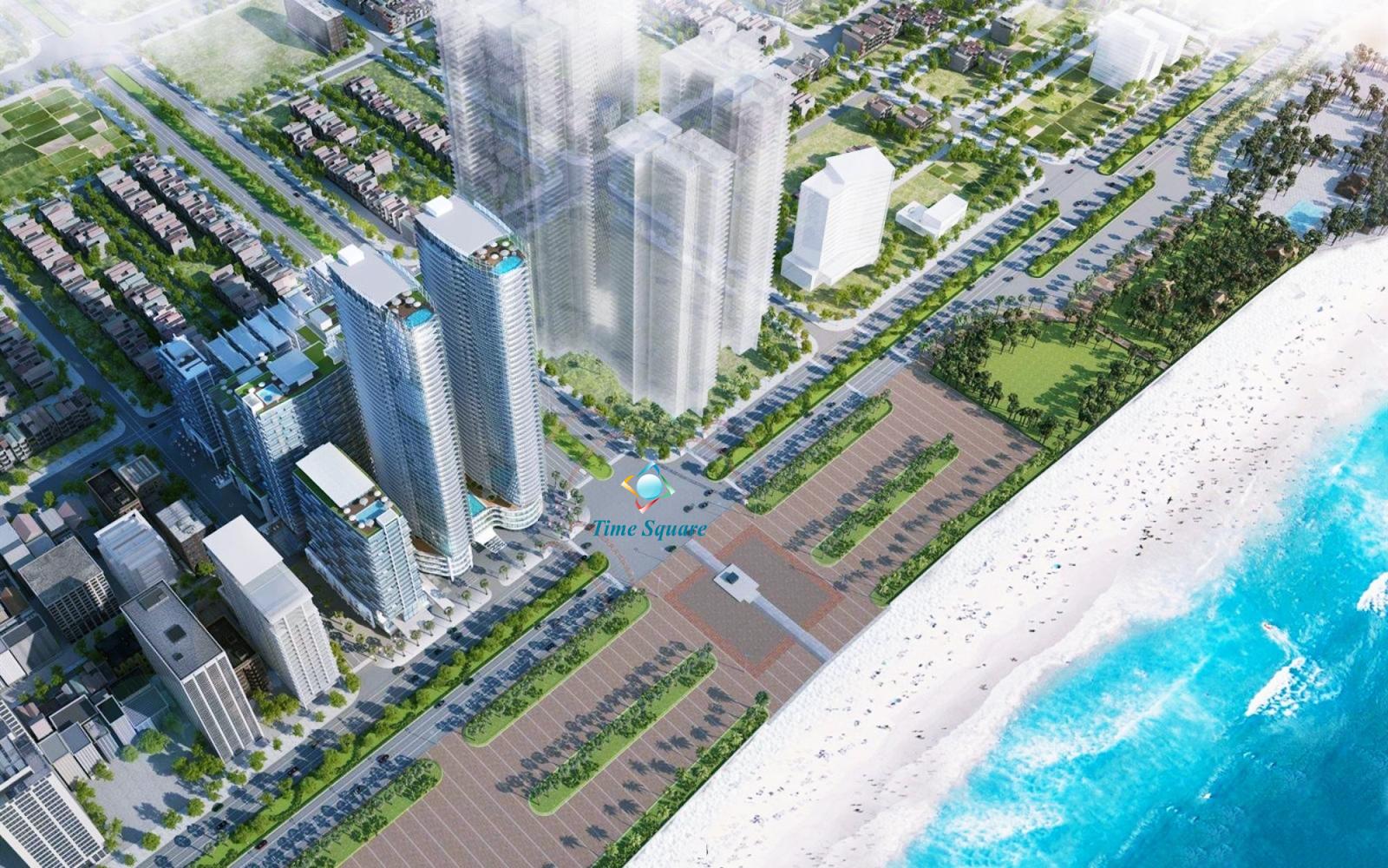 Phối cảnh dự án Time Square Đà Nẵng