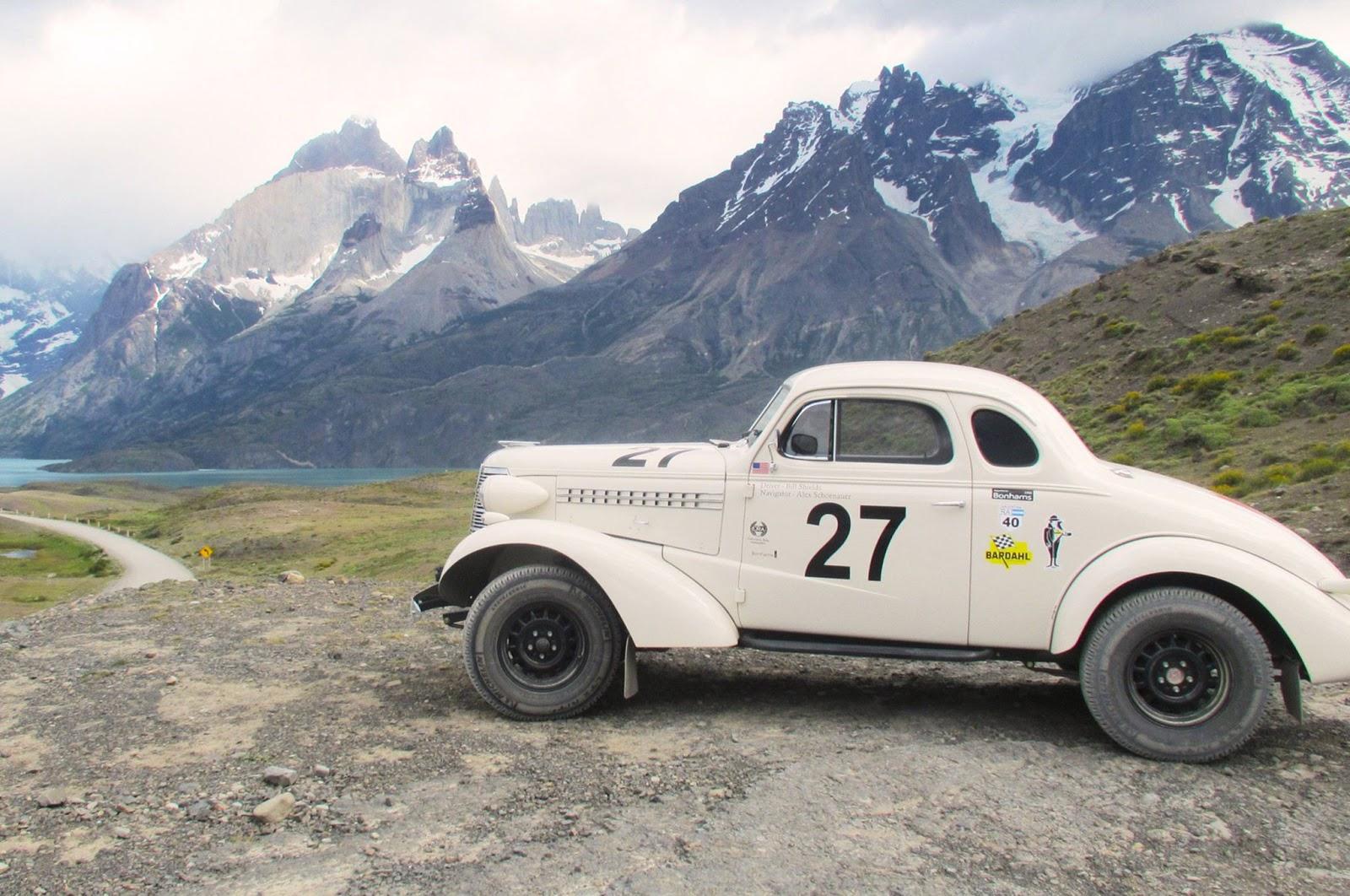 Rally racing cars