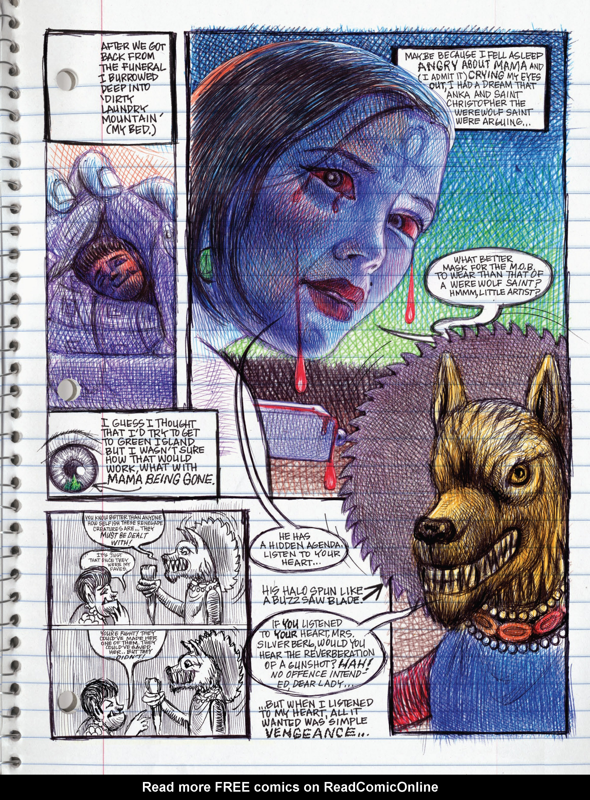 Read online My Favorite Thing is Monsters comic -  Issue #1.5 - 187