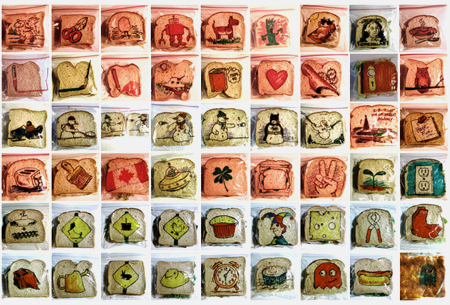 Las ilustraciones sandwich art de David Laferriere