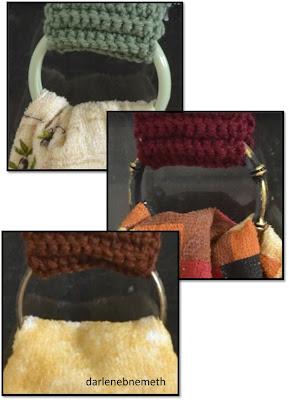 Crocheted Tea Towel Topper