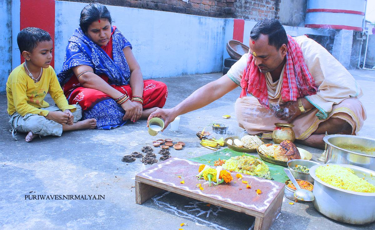 Samba Dasami #Rituals – Worshiping of Surya Bhagwan #festival #odisha