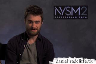 Daniel Radcliffe guest editor at IMDb's website