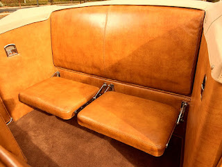 1938 Cadillac Convertible Coupe Seat Rear
