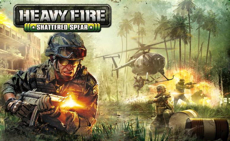 Heavy Fire Shattered Spear Fully full