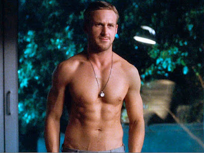 Ryan Gosling Without Shirt