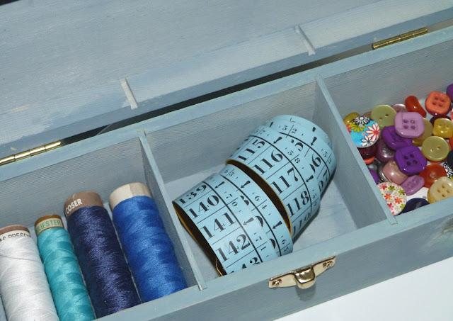 caja para hilos-costurero