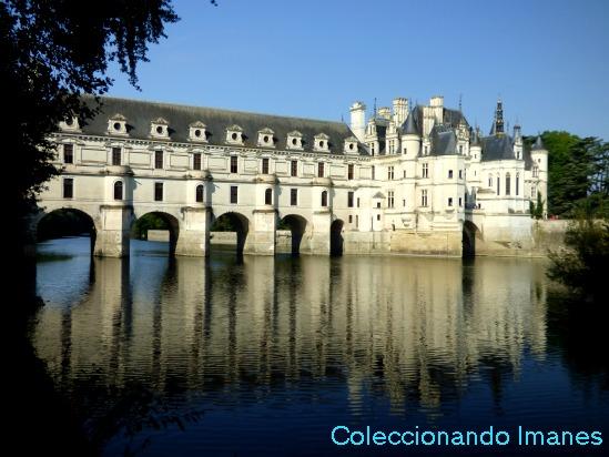 Visitar el castillo de Chenonceau