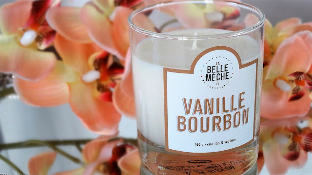 Avis Vanille Bourbon La Belle Mèche blog bougie cocooning
