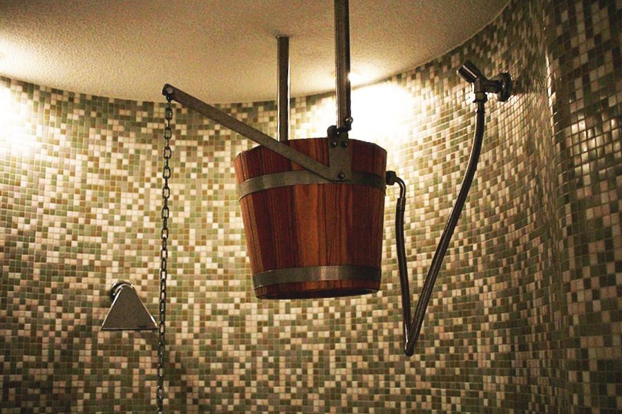 sauna dusche kalt