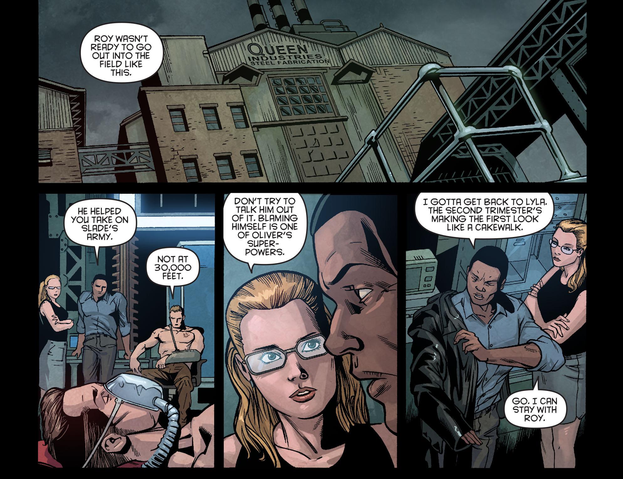 Read online Arrow: Season 2.5 [I] comic -  Issue #2 - 17
